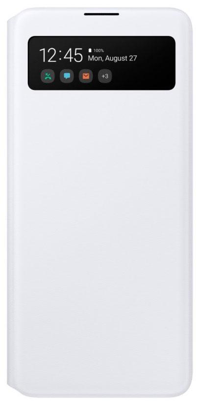Чехол-книжка Samsung Galaxy A51 S View Wallet Cover White (EF-EA515PWEGRU) фото