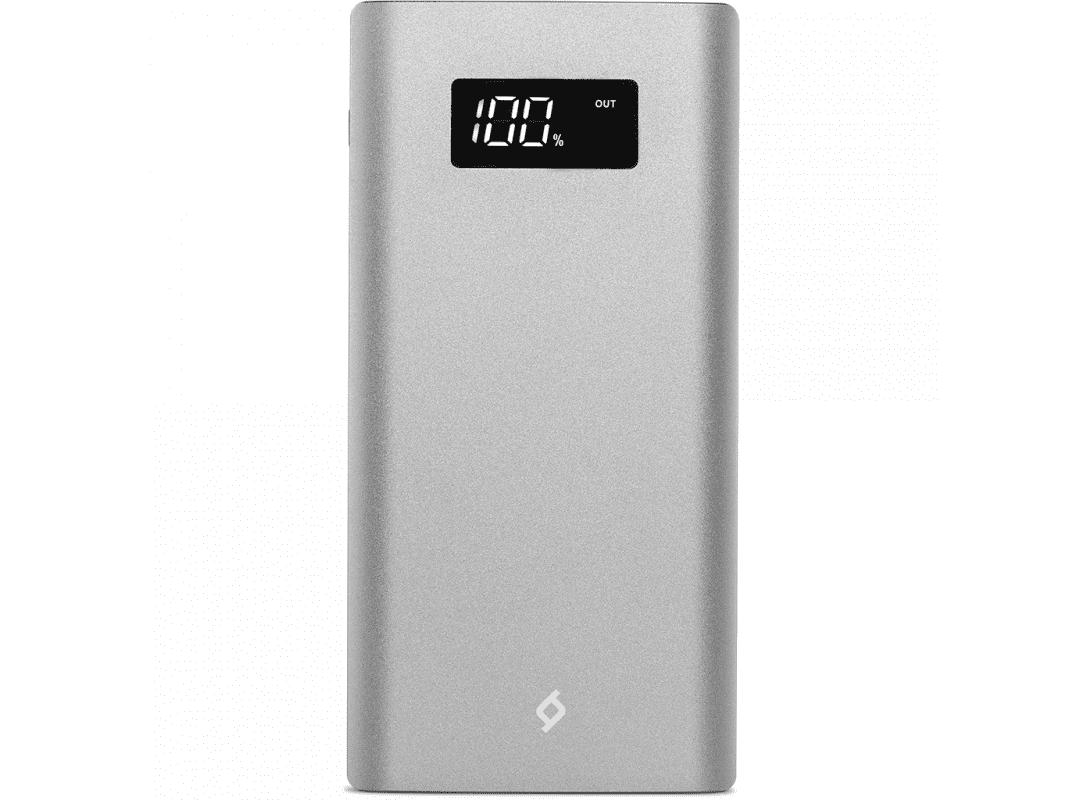Внешний аккумулятор Ttec AlumiSlim 10000 mAh с цифровым дисплеем металл Space Gray цена