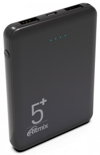 Фото - Внешний аккумулятор Ritmix RPB-5000 5000mAh Black запчасти для mp3 плееров