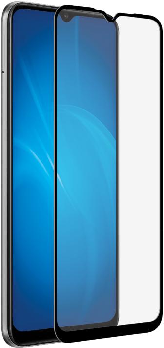 Стекло защитное DF, Realme C11 2.5D черная рамка, стекло защитное, 0317-2911  - купить со скидкой