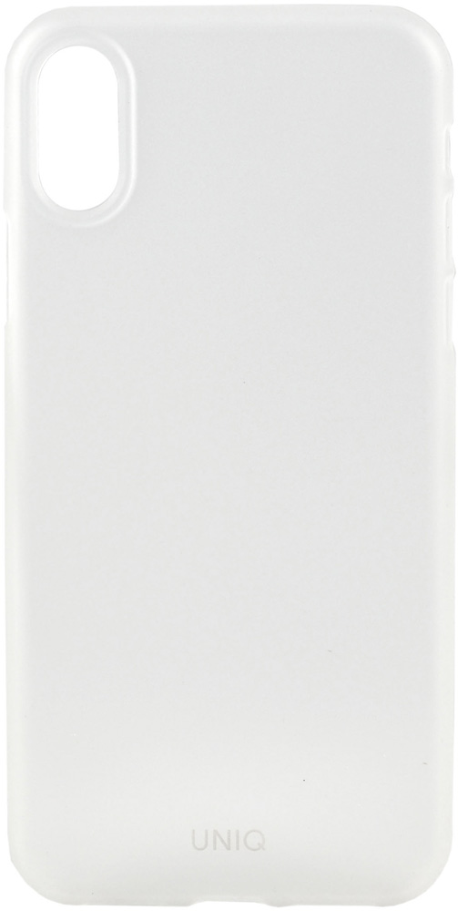 Клип-кейс Uniq Apple iPhone XR тонкий пластик прозрачный цена