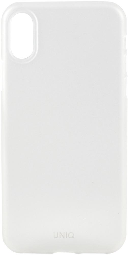 Клип-кейс Uniq Apple iPhone XR тонкий пластик прозрачный клип кейс oxyfashion apple iphone xr силикон прозрачный
