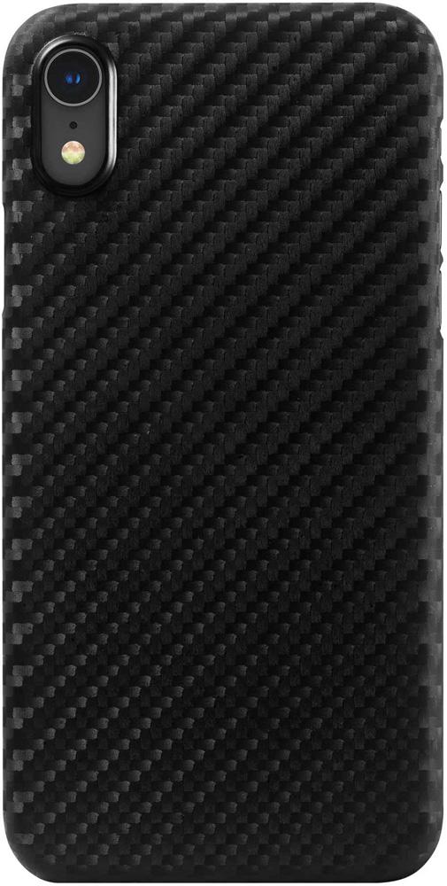 Клип-кейс Hardiz Apple iPhone XR карбон Black клип кейс inoi prism для apple iphone xr серебристый