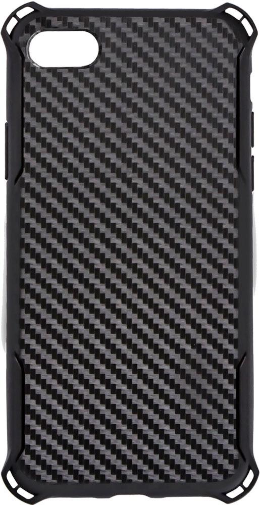 Клип-кейс Smarterra для iPhone 8 карбон Black цена и фото