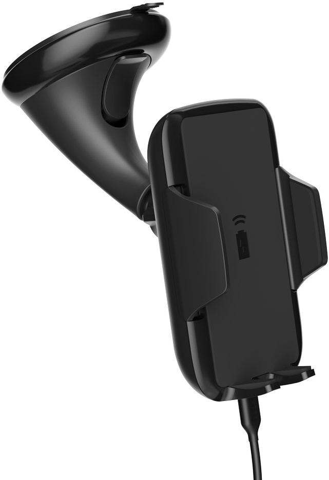 Держатель автомобильный Deppa Crab QI с функцией беспроводной зарядки Black автомобильный держатель с функцией беспроводной зарядки shun zao electric wireless car charger