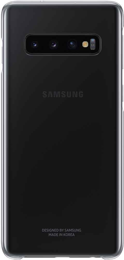 Клип-кейс Samsung Galaxy S10 EF-QG973C прозрачный клип кейс oxy fashion fine для samsung galaxy j5 2016 прозрачный