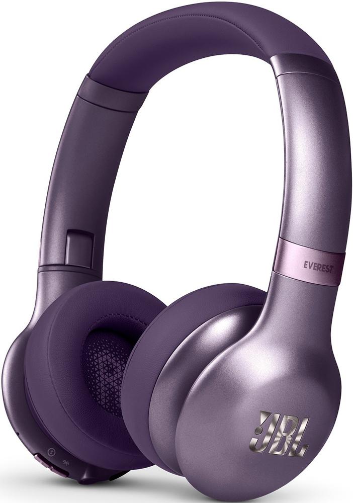 Беспроводные наушники с микрофоном JBL Everest 310bt Purple беспроводные наушники jbl everest 750bt silver