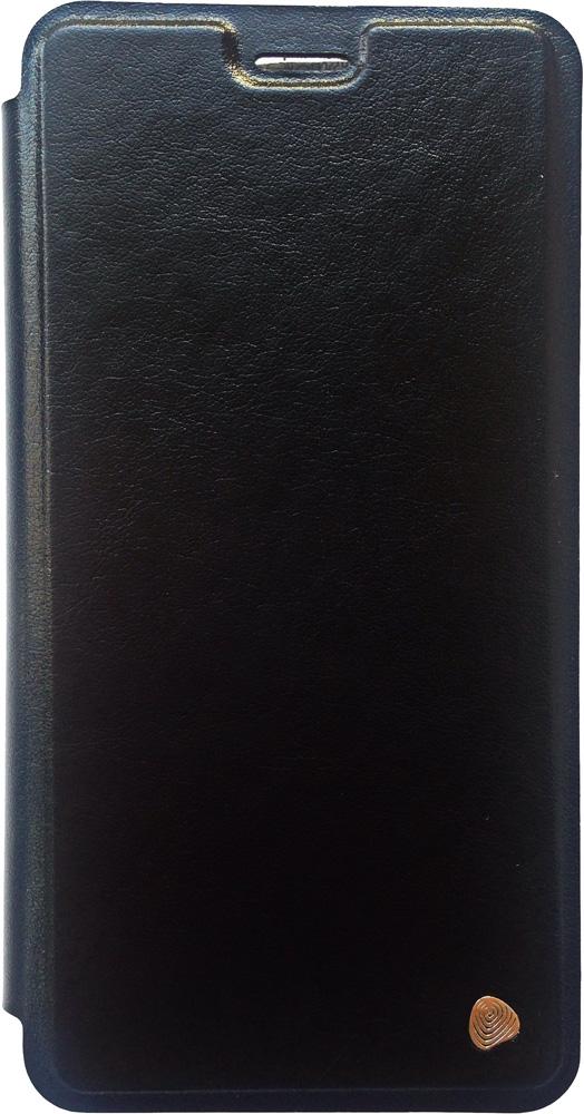 лучшая цена Чехол-книжка OxyFashion Honor 7Х Black