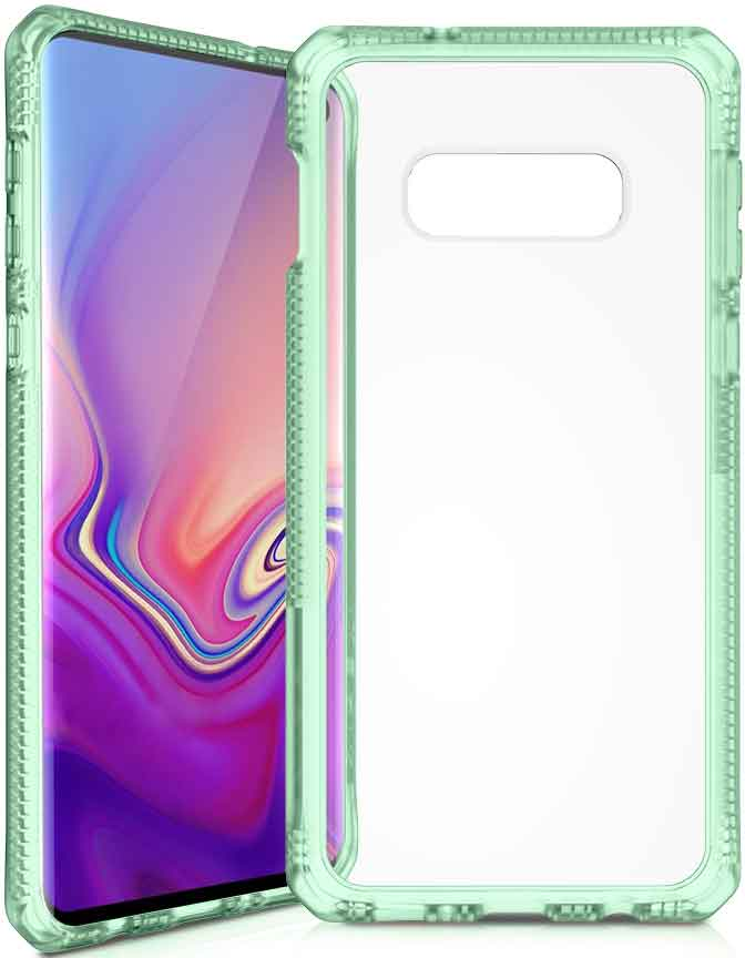 Клип-кейс Itskins Samsung Galaxy S10e Green клип кейс uniq samsung galaxy s10e black