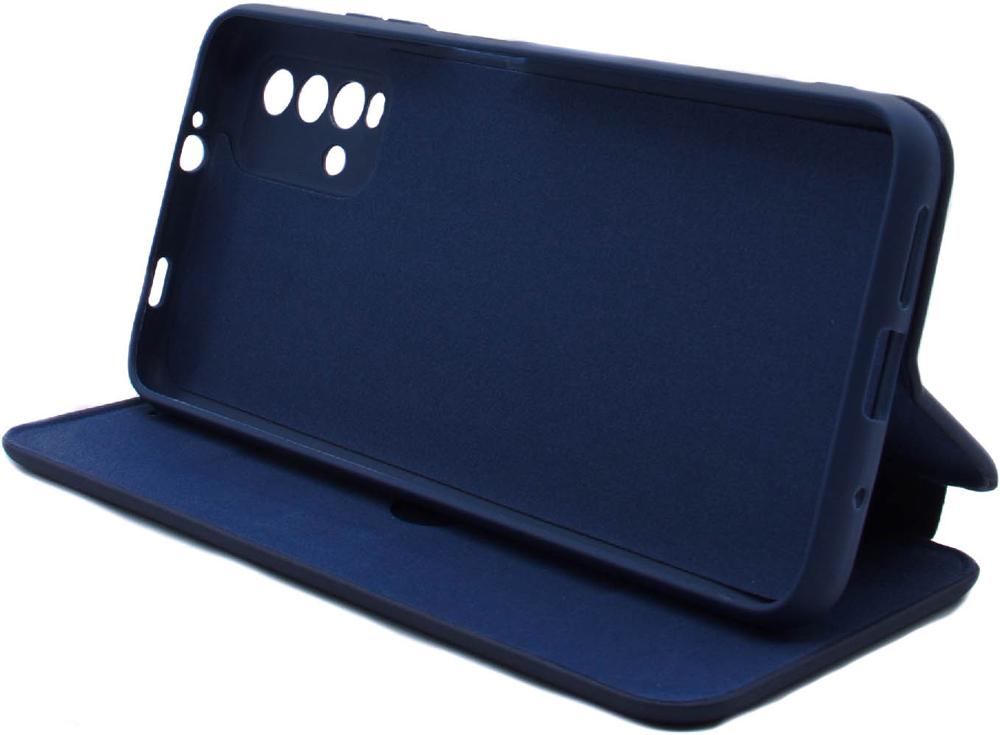 Чехол-книжка Borasco Xiaomi Redmi 9T ShellCase Blue фото 4