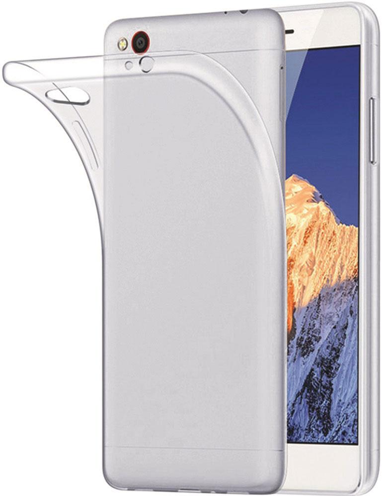 Клип-кейс OxyFashion для Apple iPhone XS силикон прозрачный