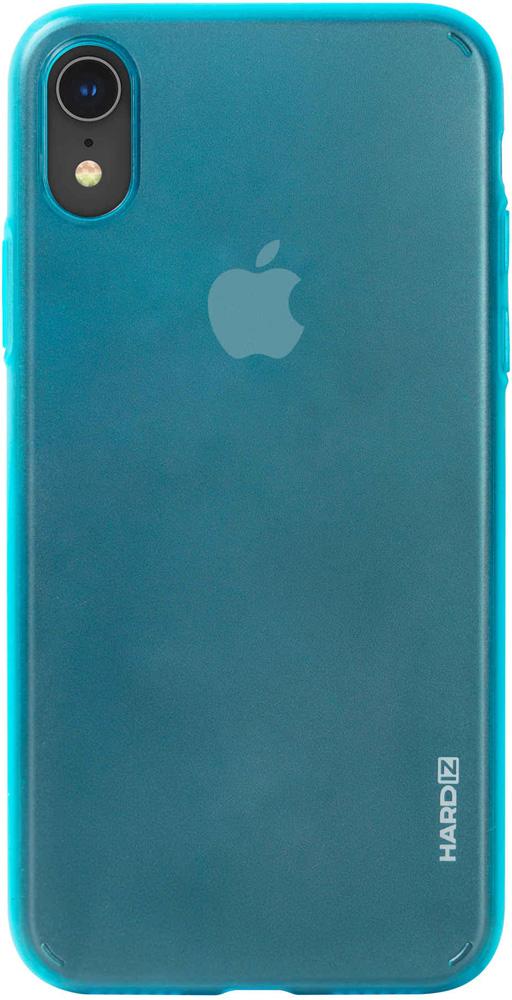 Клип-кейс Hardiz Apple iPhone XR тонкий пластик Blue аксессуар чехол для apple iphone xr hardiz glass case white hrd811700