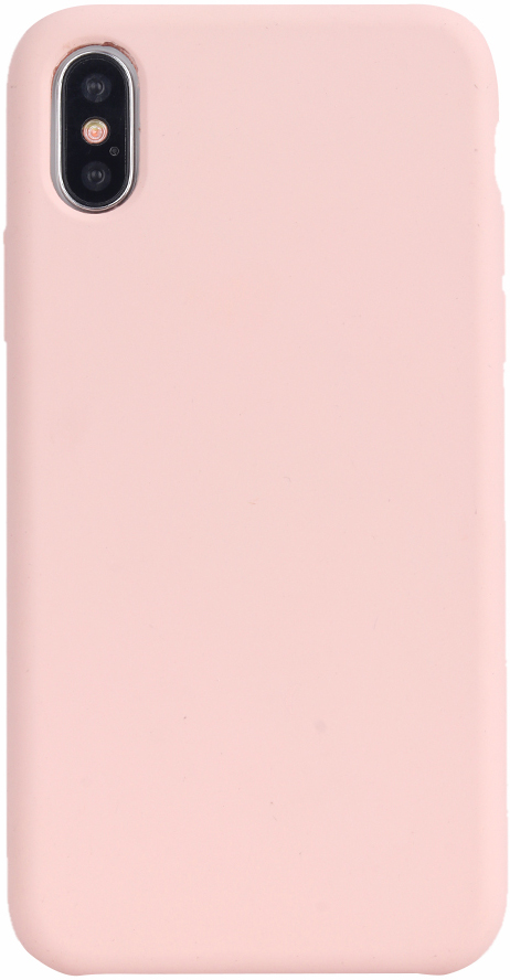 Клип-кейс Vili Silicone case iPhone X Pink аксессуар чехол для apple iphone x innovation silicone case dark pink 10632