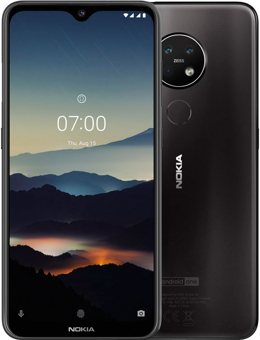 Смартфон Nokia 7.2 4/64Gb Black фото