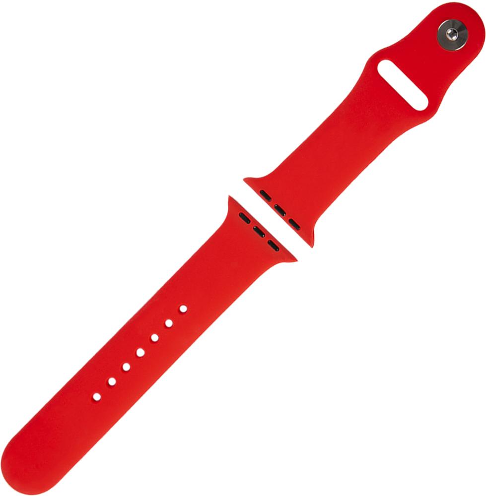Ремешок для умных часов RedLine Apple Watch 38/40мм силиконовый Red фото 4