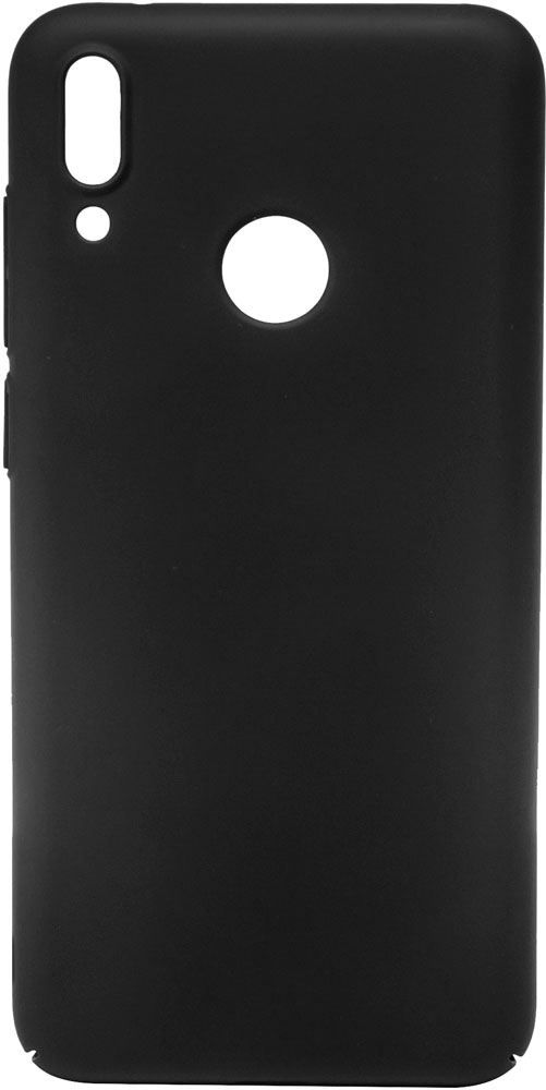 Клип-кейс MediaGadget Huawei P Smart 2019 пластик Black аксессуар чехол для huawei p smart neypo brilliant silicone black crystals nbrl4679