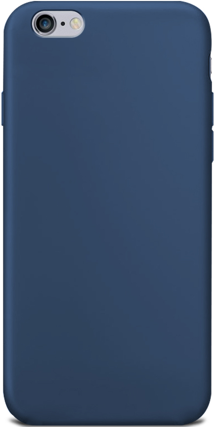 Клип-кейс Gresso Apple iPhone 6/6S TPU Blue клип кейс gresso glass edge для apple iphone xr гуайра