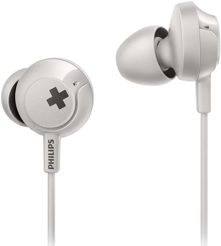 Наушники с микрофоном Philips SHЕ4305 White фото