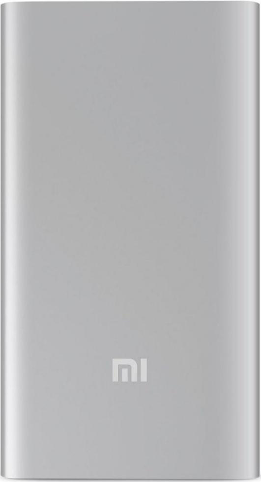 Внешний аккумулятор Xiaomi Mi Power 2i New 2USB 10000 mAh Quick Charge 2.0 PLM09ZM Silver