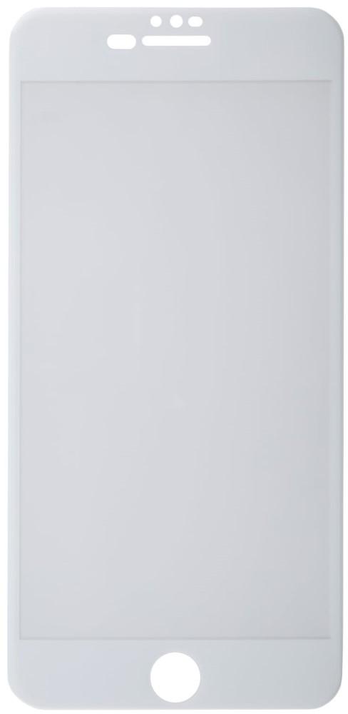 Стекло защитное RedLine, iPhone 8/7 Plus/6 F3D белая рамка, стекло защитное, 0317-2631  - купить со скидкой