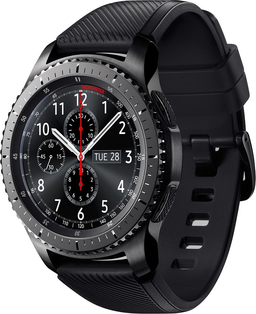 Часы Samsung Gear S3 Frontier SM-R760NDAASER матовый титан