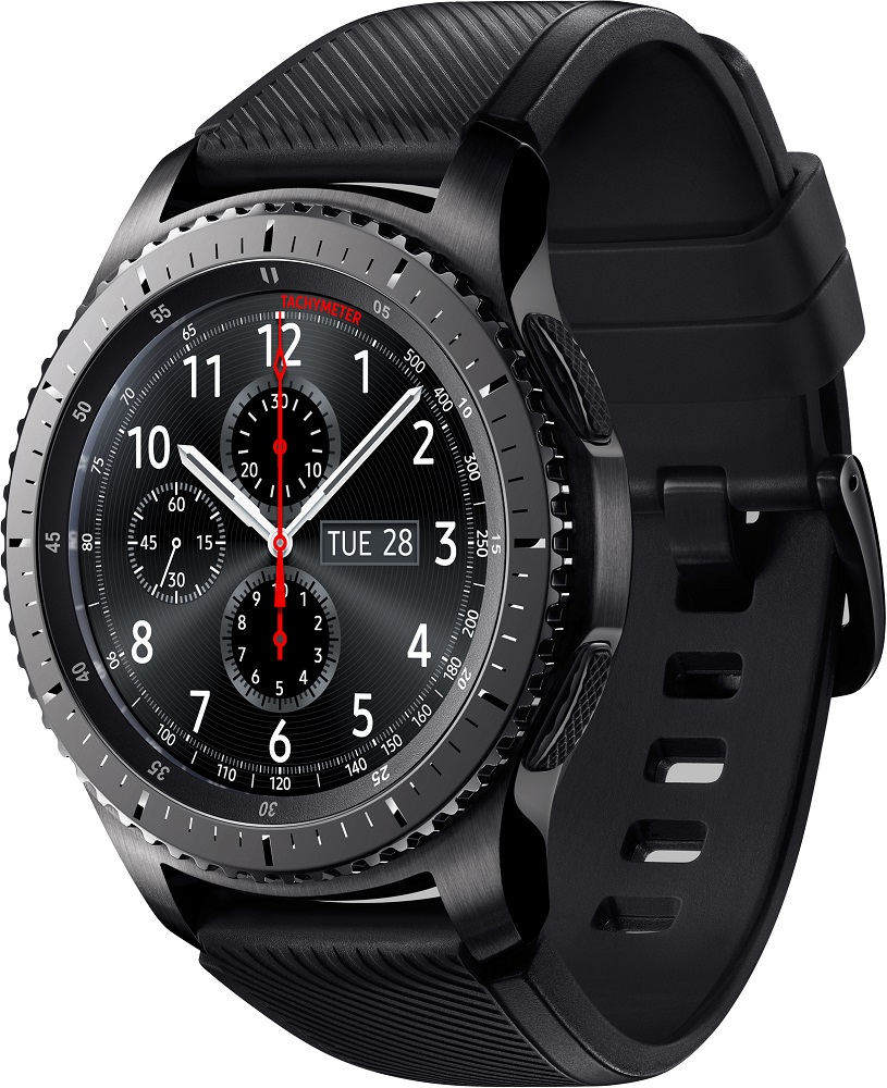 Часы Samsung Gear S3 Frontier SM-R760NDAASER матовый титан смарт часы samsung galaxy gear s3 frontier sm r760 1 3 титан матовый черный [sm r760ndaaser]