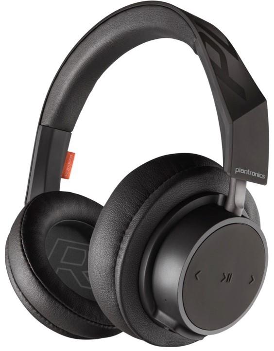 Беспроводные наушники с микрофоном Plantronics BackBeat GO 600/605 Bluetooth полноразмерные Black bluetooth гарнитура plantronics backbeat go 3 зарядный чехол черно синий