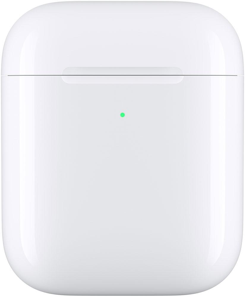 Футляр Apple с возможностью беспроводной зарядки для AirPods White (MR8U2RU/A) фото