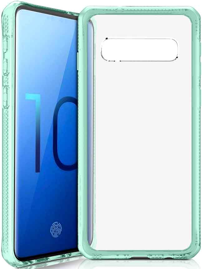 Клип-кейс Itskins Samsung Galaxy S10 Green цена в Москве и Питере