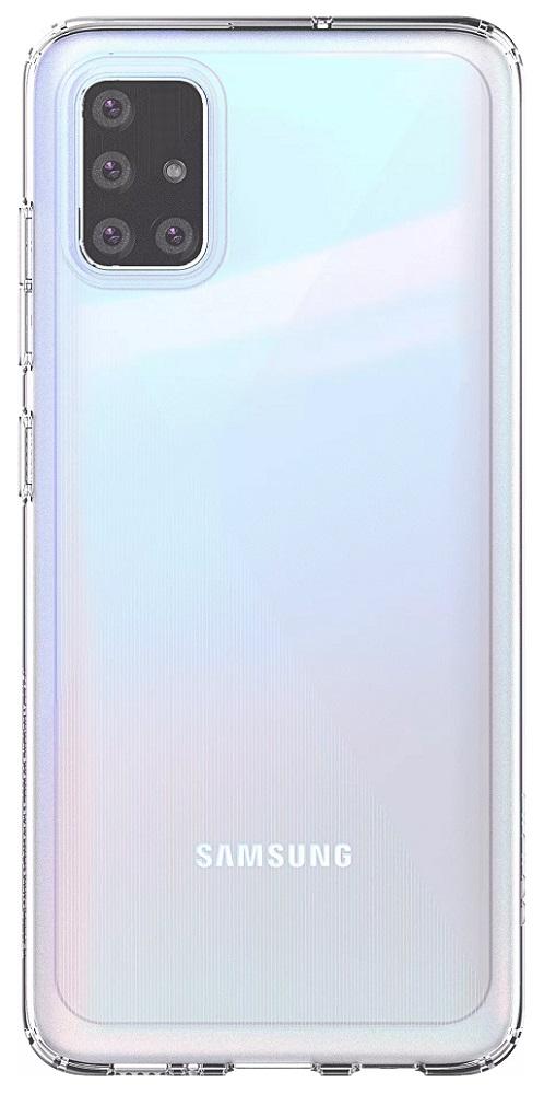 Клип-кейс Samsung Galaxy A51 прозрачный (GP-FPA515KDATR) фото