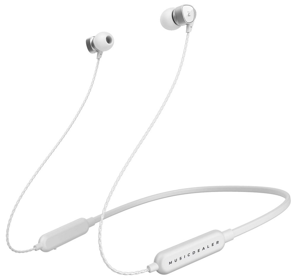 Беспроводные наушники с микрофоном Z-Project Musicdealer XS BT White (ZMDH-XSW-BT) фото