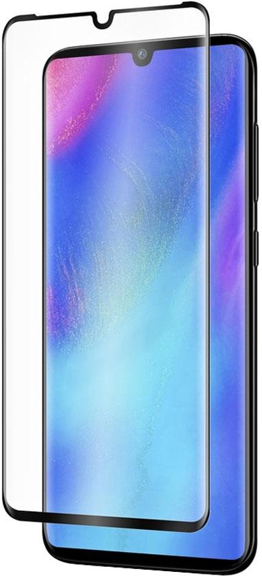 Стекло защитное MediaGadget Huawei P30 Pro Full Screen Full Glue черная рамка фото