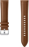 фото Ремешок для умных часов Samsung Stitch Leather Band для Galaxy Watch3 41mm, Watch 42mm, Watch Active brown