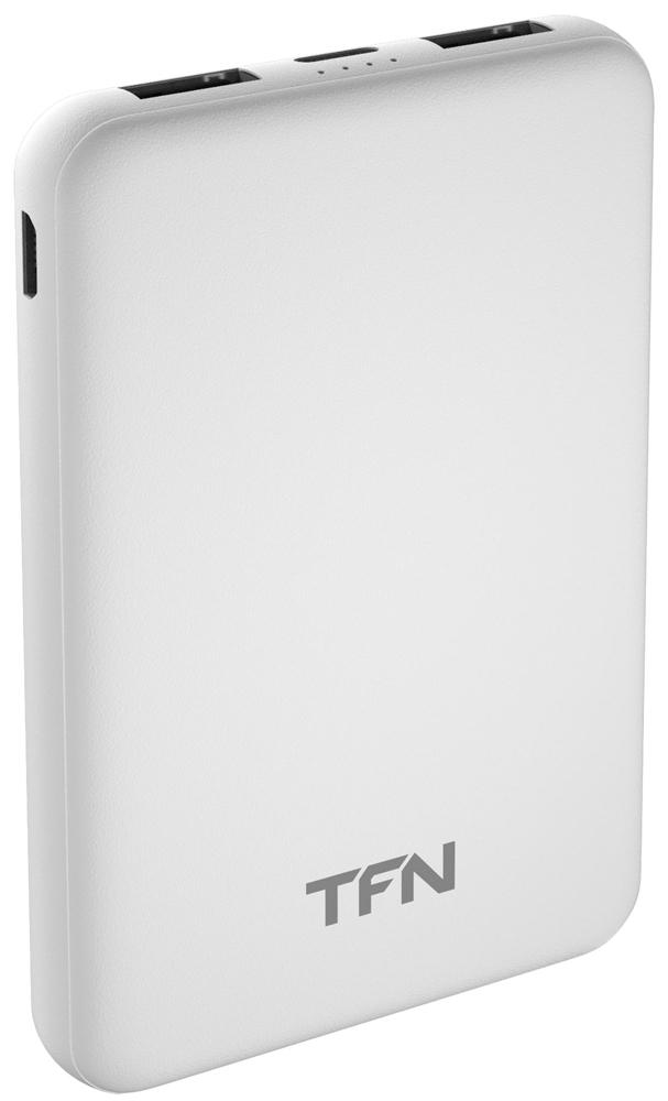 Внешний аккумулятор TFN Slim Duo 5000mAh White фото