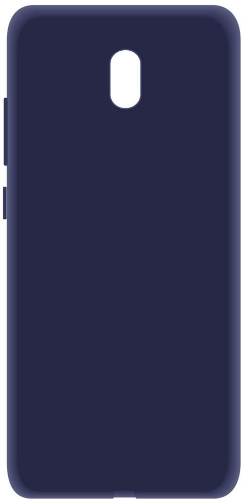 Клип-кейс LuxCase Xiaomi Redmi 8A пластик Blue фото