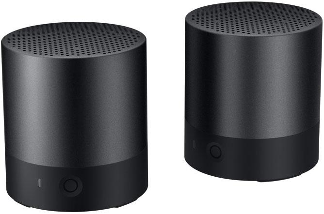 Портативная акустическая система Huawei Mini Speaker (пара) Black фото