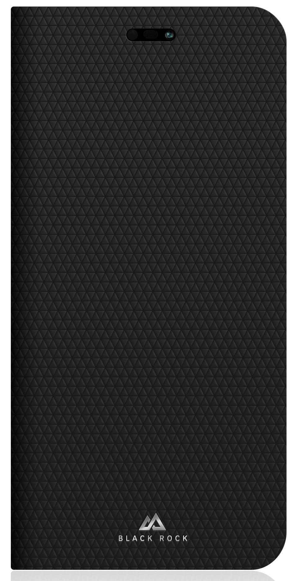 Чехол-книжка Black Rock для Huawei P20 Lite рубчик black фото