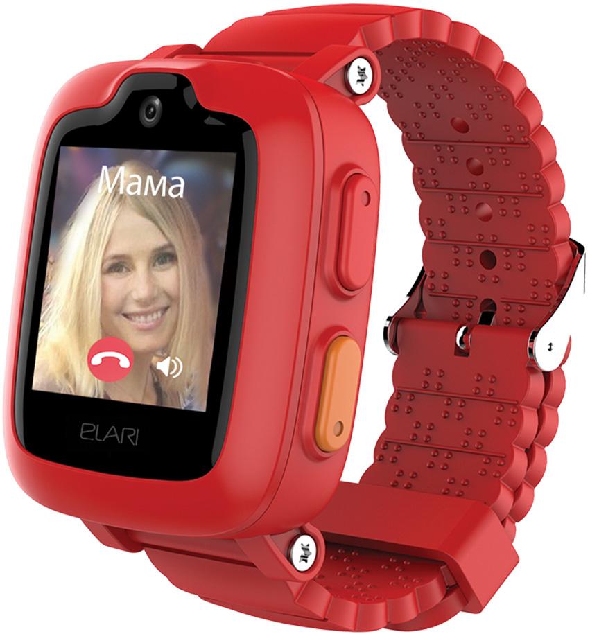Детские часы Elari Kidphone 3G с голосовым помощником Red elari kidphone 2 green