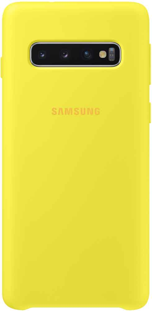 Клип-кейс Samsung Galaxy S10 TPU EF-PG973TYEGRU Yellow клип кейс samsung galaxy s10 ef qg973c прозрачный