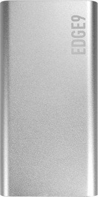 Внешний аккумулятор Partner EDGE4 4500 mAh дополнительный разъем Lighting silver аккумулятор olight 26650 3 7 в 4500 mah