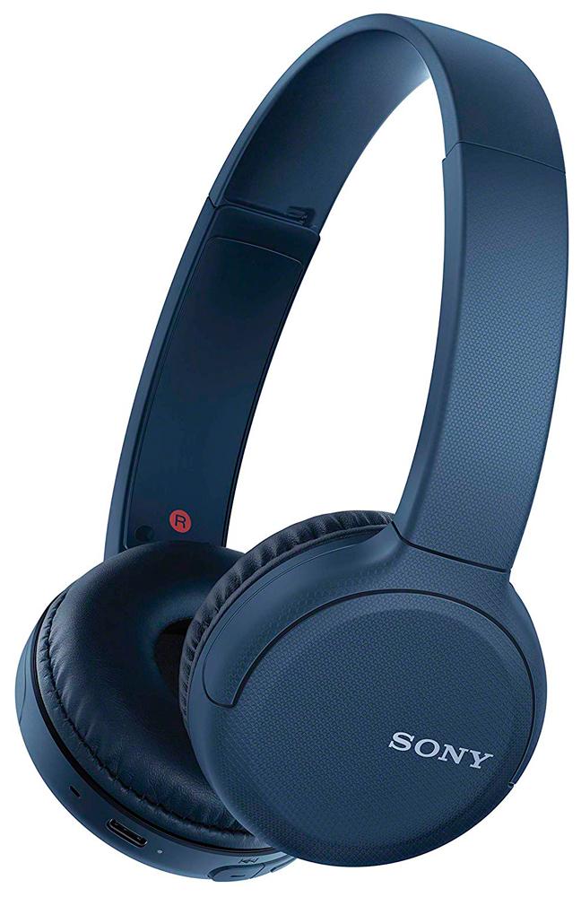 Беспроводные наушники с микрофоном Sony WHCH510 Blue фото