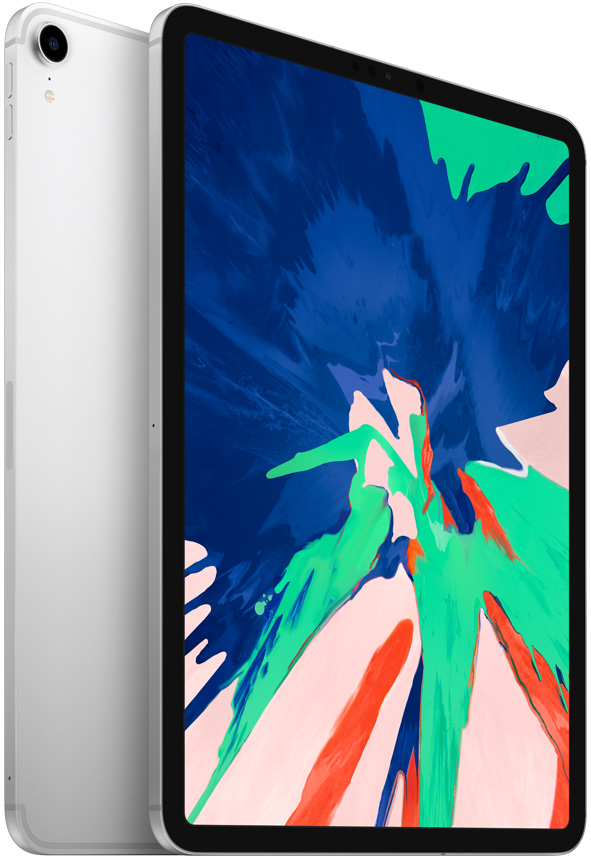 "Планшет Apple iPad Pro 2018 Wi-Fi Cell 11"" 256Gb Silver (MU172RU/A) цена"