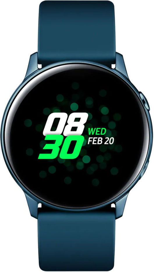 Фото - Часы Samsung Galaxy Watch Active SM-R500N Green active cut out elastic vest in navy