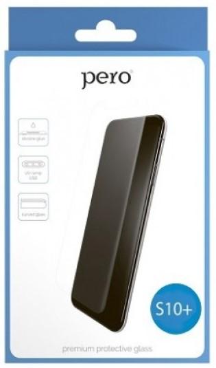 Стекло защитное Pero UV Samsung Galaxy S10 Plus прозрачное фото