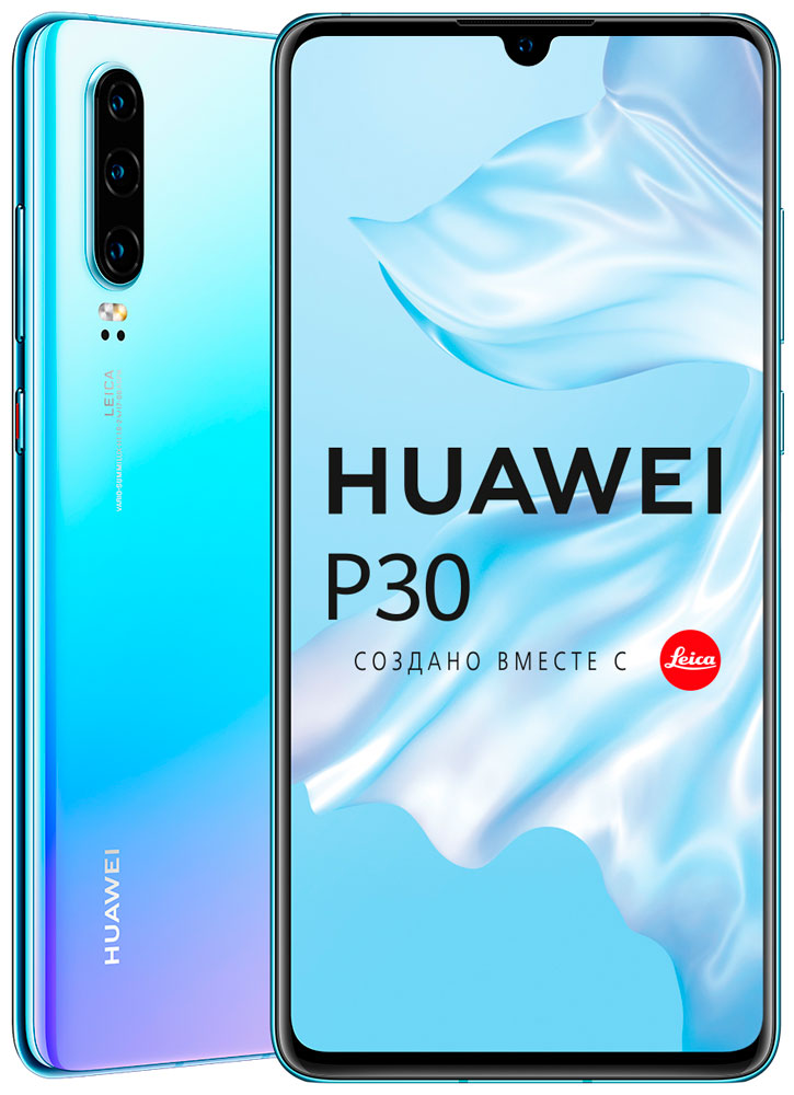 Смартфон Huawei P30 6/128Gb Breathing crystal фото