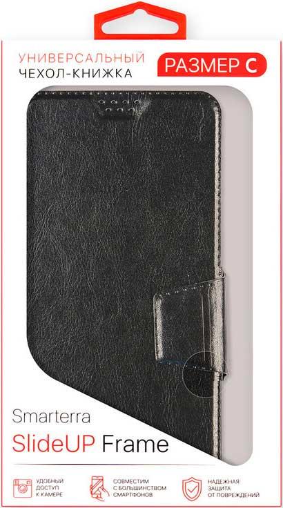 """Чехол-книжка Smarterra универсальный размер 4,5""""-4,8"""" Black"""
