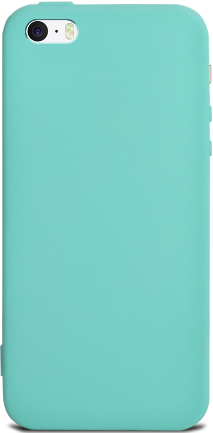 Клип-кейс Gresso Apple iPhone 5/SE TPU Turquoise цена и фото
