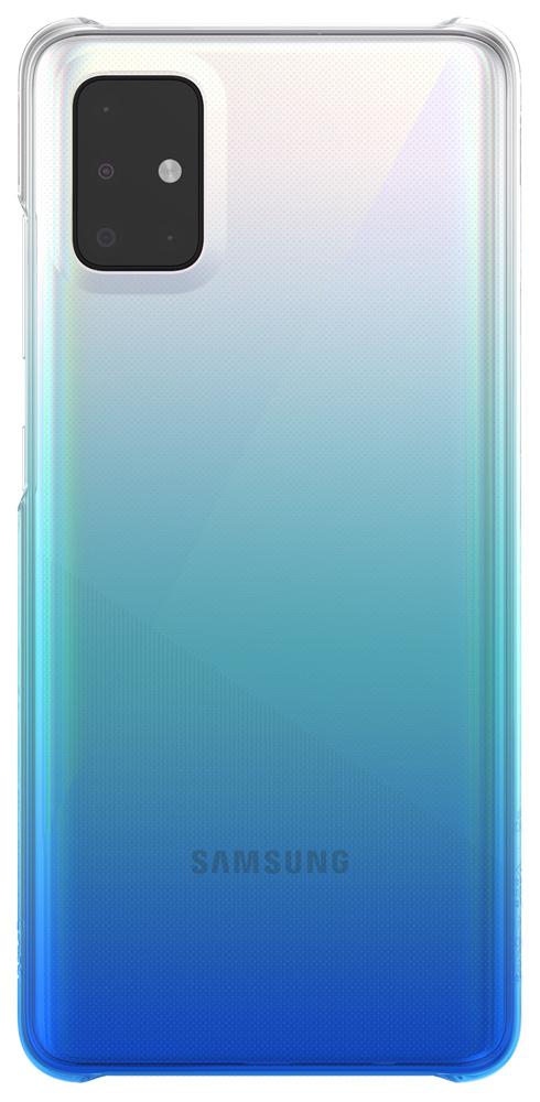 Клип-кейс WITS Samsung Galaxy A51 градиент Blue (GP-FPA515WSBLR) фото