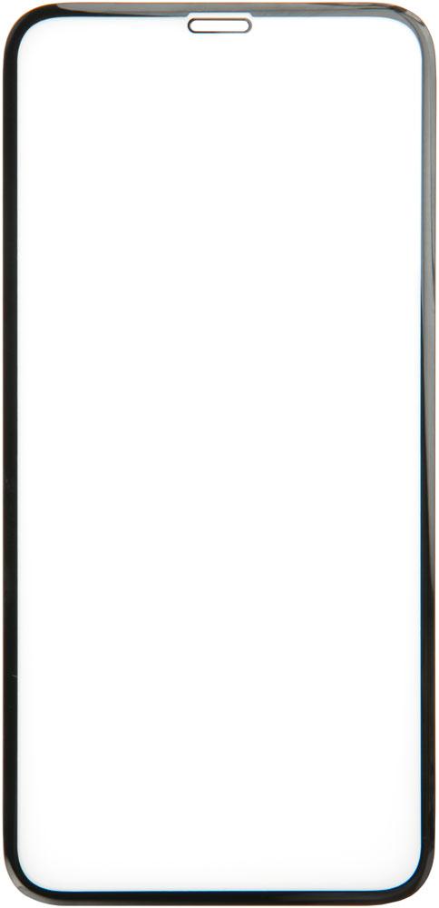 Стекло защитное RedLine iPhone 11 3D PMMA черная рамка