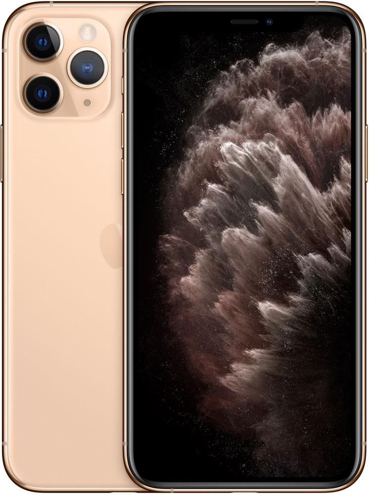 Смартфон Apple iPhone 11 Pro 256Gb Золотой фото